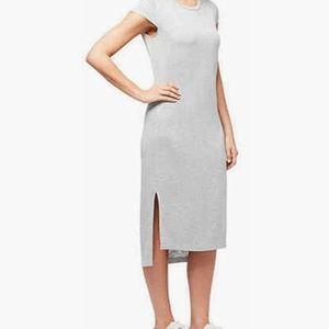 NWT Jessica Simpson Grey Brees midi tshirt dress